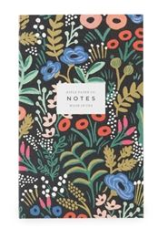Rifle Paper Co. Tapestry Pocket Notebook designed by Anna Bond.  Pre-Order now at Northlight Homestore