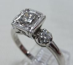 vintage wedding ring....it's all i want <3