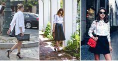Outfits blanco con negro, ¡la combinación perfecta para cualquier ocasión!