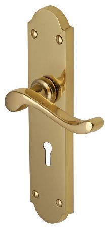 M.Marcus Heritage V750 Savoy Long Brass Lever Lock Door Polished brass Savoy Long traditional  sc 1 st  Pinterest & M.Marcus Heritage V7155 Roma Antique Brass Round Rose Antique brass ...