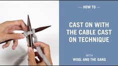 Cable Cast On