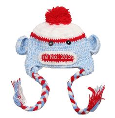 39822de04325d animal hat Picture - More Detailed Picture about 5pcs lot Free shipping 27  color Best price Handmade Knitted Crochet children Baby girls Hat animal  hat with ...