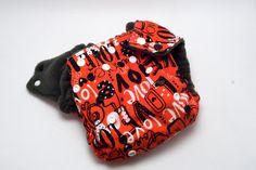 Cloth Diaper All in Two with Hemp Insert  I by RebelInnStudios