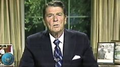 On March 4th 1987, President Reagan publicly admits America's role in the Iran-Contra affair for the first time.