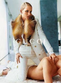 Georgina Grenville & Ludovico Benazzo photographed by Mario Testino for Gucci Fall/Winter 1996 Campaign