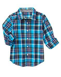 Plaid Shirt at Gymboree