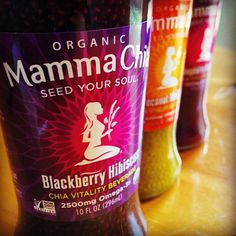 Did you know that just one bottle of #MammaChia provides 2500mg of #Omega3 (that's more than 6 oz. of #salmon!), 25% of your daily #fiber, 95mg of #calcium, 4g of complete protein and powerful #antioxidants? Find your nearest Mamma Chia retailer by visiting www.MammaChia.com/find-us