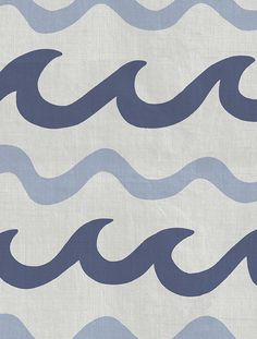 Swell Designer Fabric by Aimée Wilder and Mowgli Surf. Sold by the yard. This beautiful fabric, a collaboration with Mowgli Surf, is the perfect décor for your home or business. Materials: 100% Cotton