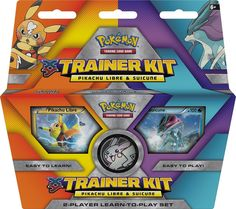 Amazon.com: Pokemon TCG: XY Trainer Kit-Pikachu Libre and Suicune 2-Player Learn-to-play Set (Discontinued by manufacturer): Toys & Games
