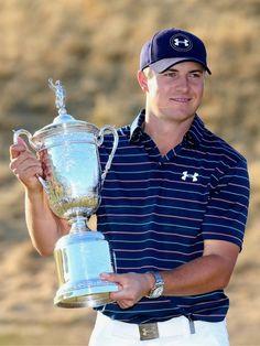 5db16b36246 Jordan Spieth 2015 U.S Open winner. Jordan SpiethTiger WoodsUs ...