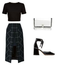 """""""Classic"""" by cristinacumbay996 on Polyvore featuring Marc Jacobs, Ted Baker, Sacai and Proenza Schouler"""