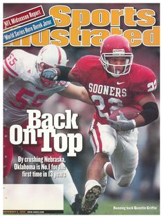 They look alike, talk alike, share similar tastes in women--onemarried the cousin of the other's wife--and Dave and Don Buckeyhave always had that ESP thing Semi Pro Football, Ou Football, Football Players, Football Helmets, College Football, Oklahoma Sooners Football, Oklahoma State University, Si Cover, Sports Illustrated Covers