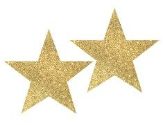 gold star clipart and animated