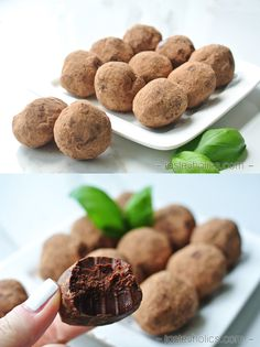 Paleo & primal chocolate truffles! Easy to make and fun to eat. Lots of variations too, which means there's a perfect truffle for everyone!
