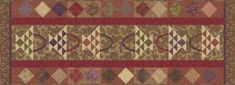 Mill Brook Table Runner Kit featuring Mill by SistersandQuilters