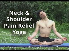 ▶ Hatha Yoga for Neck and Shoulder Health - 57 minutes Pain Discomfort Stress Relief - YouTube