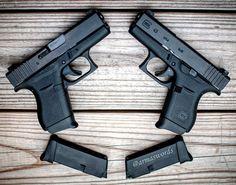 Manufacturer: Glock Mod. G43 Type - Tipo: Pistol Caliber - Calibre: 9mm Capacity - Capacidade: 6 Rounds Barrel length - Comp.Cano: 3.4 Weight - Peso: 510 g @glockinc #guns#glock#arms#tactical#firearms#gunslove#selfdefense#photooftheday#barrel#instagood#photogun#firearmlove#guns#firearms#gunpics#followme#firempotography#gunsdaly#selfdefense#gunporn#progun#g43#armaswords#handgun by armaswords