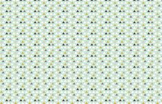 Mod Aqua Triangles half scale fabric by mrshervi on Spoonflower - custom fabric