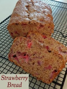 Who needs zucchini bread, when you can make Strawberry Bread! I love how simple this recipe is to make. You'll have a loaf in the oven in under 15 minutes.