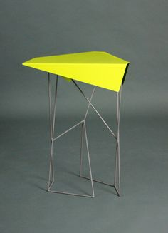Kassandra Huynh: Key Lime Green Sheet Metal Table