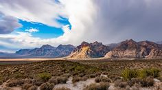 Cloudy Skies at Red Rock Canyon National Park [45652550] (OC) #reddit