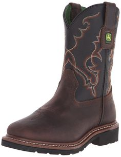 John Deere JD3340 Pull-On Boot (Big Kid) -- You can get more details here : Girl's boots
