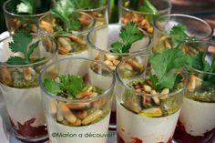 Panacotta parmesan, tomates séchées et pesto - Recettes de Cuisine de Marion Flipo