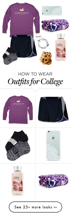 """""""I don't even live in the south, but I love these shirts. Night"""" by elyse-eburg on Polyvore featuring мода, NIKE и Vera Bradley"""