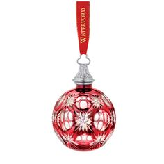 Waterford Ball Ornament