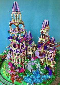 Com surveyed lego ideas Lego Minecraft, Moc Lego, Lego Lego, Minecraft Buildings, Lego Design, Lego Disney, Disney Stars, Legos, Lego Elves Dragons