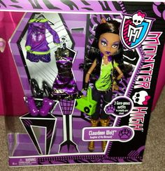 Monster High I love shoes Fashion Clawdeen Exclusive