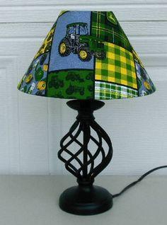 John deer lamp so cute love this for a little boys room!