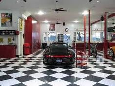 Lovely Car Garage Interior Ideas : Awesome Garage Interior Design ...