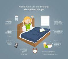 Abitur: so klappt's mit dem Schlafen - Grafik Good for imperative form