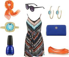 """Summatime!!"" by galvezchic on Polyvore"