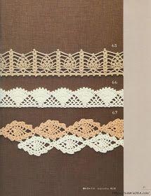 Crochet: Pineapple edges