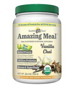 Look what I found on #zulily! Vanilla Chai Amazing Meal Supplement Powder - 30 Servings #zulilyfinds
