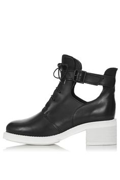 Aftershock Cutout Lace-Up Boots