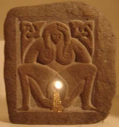 Sheela na gig the unbridled nature of feminine passion.  This is the gate of life through which we all pass