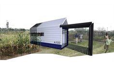 Mobile housing unit - Architecture for a Change (pty)ltd