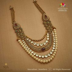 Gold Mangalsutra Designs, Antique Jewellery Designs, Indian Jewelry Sets, Gold Bangles Design, Gold Jewelry, Gold Necklace, Fashion Jewelry, Gold Set, Choker