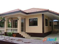 Wood House Design, House Outside Design, Village House Design, Kerala House Design, Simple House Design, Simple House Plans, Beautiful House Plans, Modern Bungalow House, Bungalow House Plans