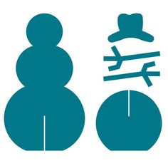 Snowman Snowman Make your own snowmen using this AccuCut die. Cut out the pieces, slide the top snowman on the base, add arms and a hat and it's ready to decorate! Makes a great table decoration and a fun craft for kids. Christmas Yard, Christmas Projects, Christmas Holidays, Christmas Ornaments, Christmas Snowman, Fun Crafts For Kids, Holiday Crafts, Wood Crafts, Paper Crafts