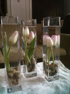 tulips are my favorite flower... can pick a fall colored tulip/fake tulip if not avail.. i love this ~ joy