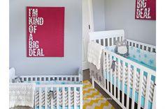 """Baby Carey"" Nursery – DIY Nursery Art, Chevron  Bright Colors » Suzanne Carey Photography"