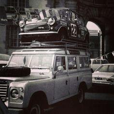 Mini Land Rover