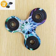 Omeny Painted Pattern Hand Fidget Spinner Spielzeug für Erwachsene Kinder Stress reduzieren - Fidget spinner (*Partner-Link)