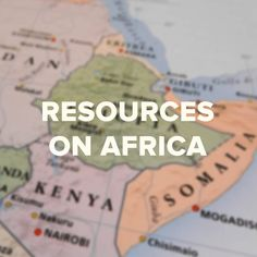 Find more resources about Africa www.viflearn.com!