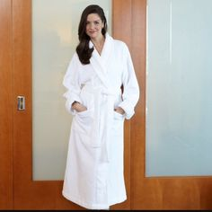 Luxurious Kay Anna Spa Robe Luxurious Long Kay Anna Spa Robe. 100% Cotton. Kay Anna  Intimates & Sleepwear Robes