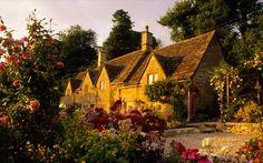 Bibury, The Cotswolds, England